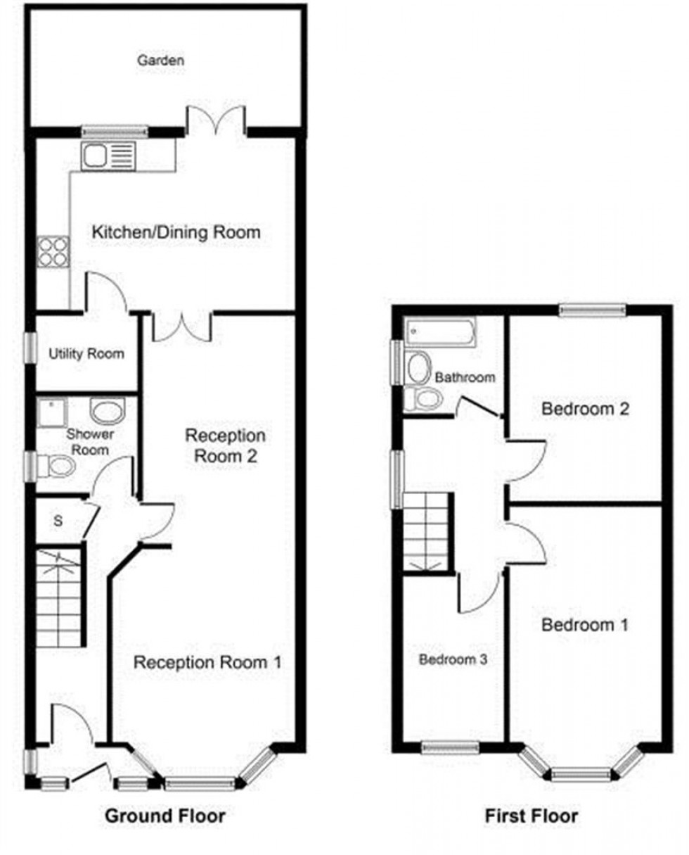 Floorplan for Forest Gate, LONDON