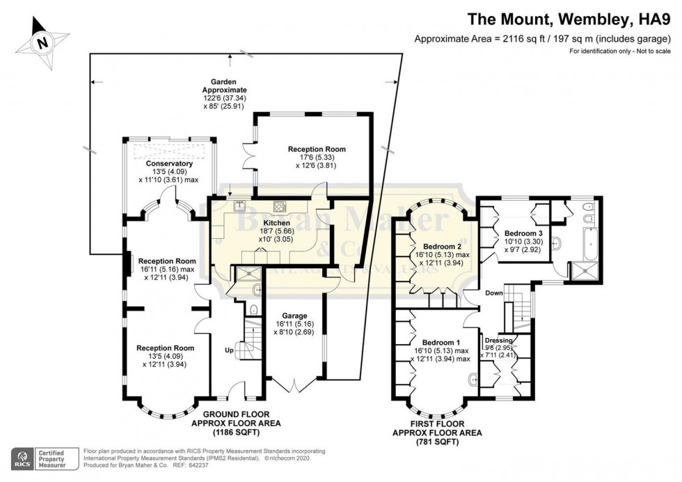 Floorplan for The Mount, WEMBLEY PARK